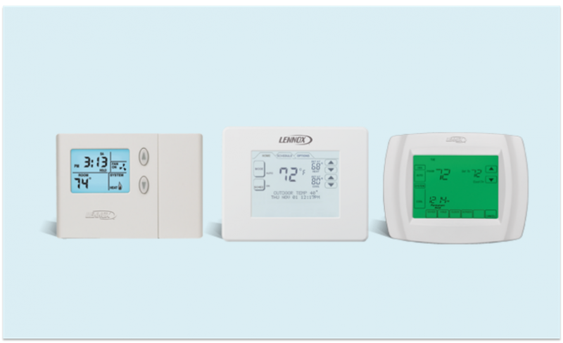 3 programmable thermostats